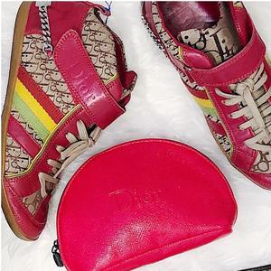 【Vintage Dior】Trotter Sneaker Rasta