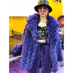 【CUBRUN】CARL FAKE FUR COAT