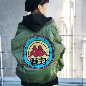 【CHARM'S】×KAPPA BIG LOGO PADDED MA-1