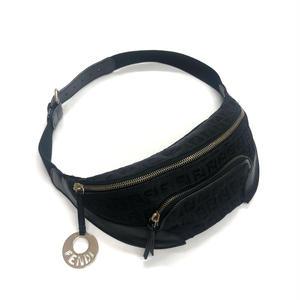 【Vintage FENDI】ZUCCA NYLON WAIST BAG