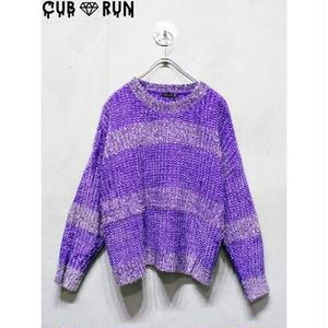 【CUBRUN】MALL RAME KNIT
