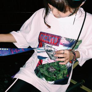 【CUB RUN】DOLLAR PRINT TEE