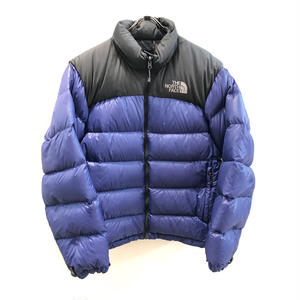 【THE NORTH FACE】USED DOWN - BLUE PURPLE/ GRAY -
