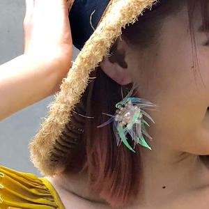 AURORA  FLOWER  HOOP  PIAS