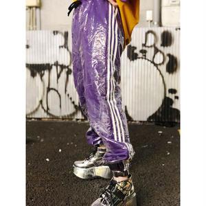 【CUBRUN】PVC COVER LINE PANTS