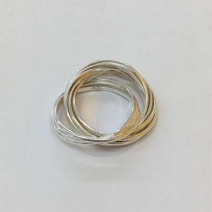 【Phismade】925 thinround ring