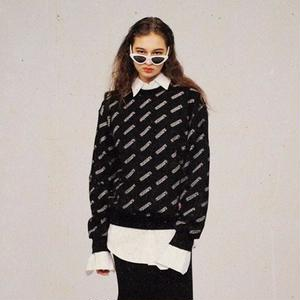 【CHARM'S】LOGO PATTERN  SWEAT 3-47