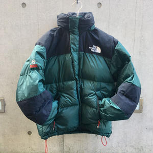 【THE NORTH FACE】USED DOWN _BLACK/GREEN