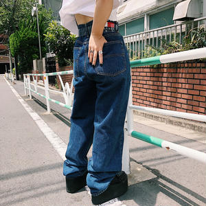 USED TOMMY DENIM PANTS【BLUE】