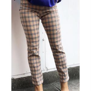 【Vintage Burberry】CHECK PANTS