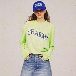【CHARM'S】WAVE LOGO SWEAT 3-4