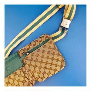 【Vintage GUCCI】GG BODY BAG