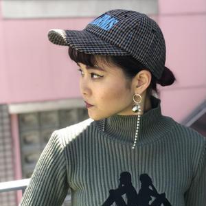 【CHARM'S】CHECK CHECK CAP