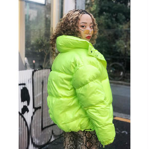 【CUBRUN】COLOR BIG PUFF JACKET