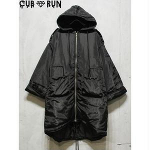 【CUBRUN】FLARE SLEEVE NYLON COAT