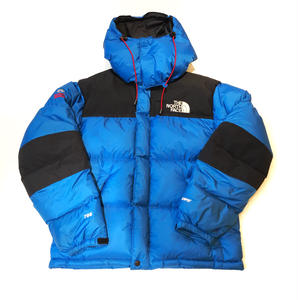 【 THE NORTH FACE 】USED DOWN - BLUE-