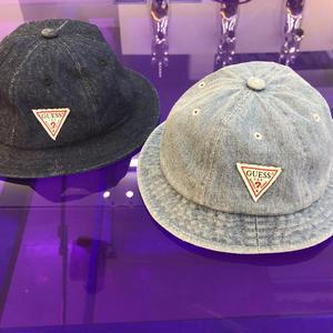 【GUESS KIDS】Denim bucket hat
