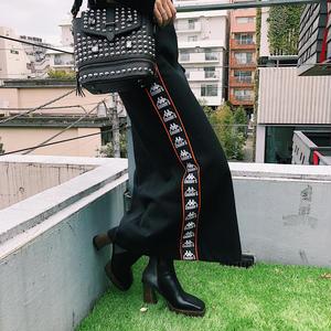 【CHARM'S】×KAPPA 魅力 LINE TAPE LOGO SKIRT