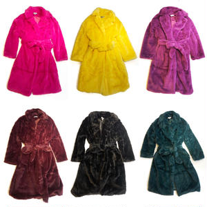 【CUBRUN】ECO FUR GOWN COAT