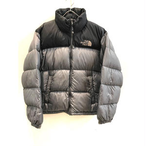 【THE NORTH FACE】USED DOWN - GRAY / BLACK -