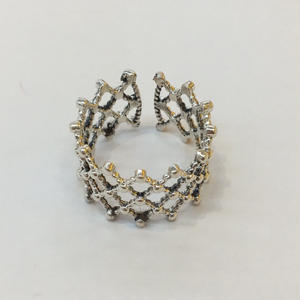 【Phismade】925 lace ring