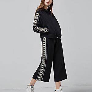 【Kappa  BANDA】knit  cropd  pants