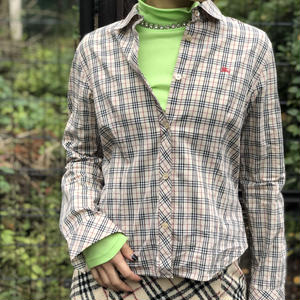 【Vintage Burberry】CHECK SHIRTS