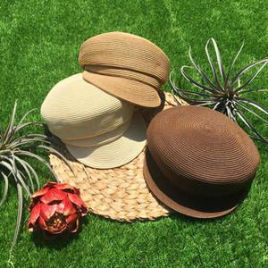 STRAW  MARINE   CAP