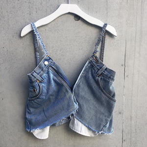 REMAKE DENIM BUSTIE