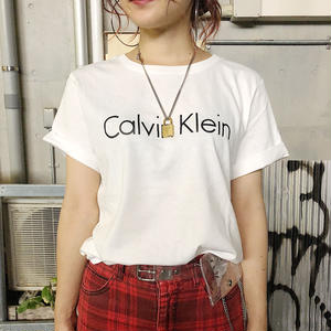 【Calvin Klein】LOGO TEE LADY'S