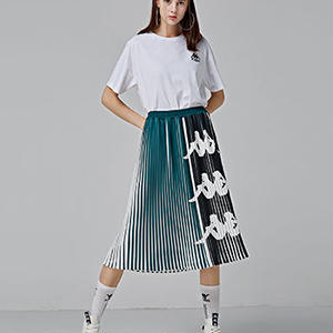【Kaapa BANDA】pleats long skirt