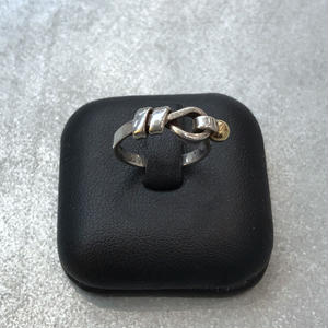 【 TIFFANY & Co. 】FLAT WIRE RING
