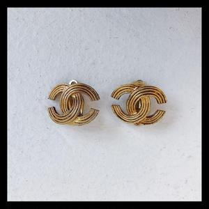 【vintage CHANEL】earring