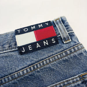 USED TOMMY DENIM PANTS 【LIGHT BLUE】