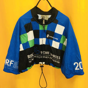 REMAKE CYCLE TOPS BLUE