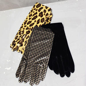 VELVET SHORT GLOVES