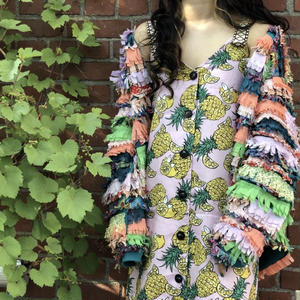 PINEAPPLE RESORT DRESS