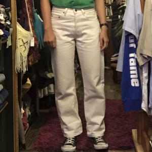 [USED] Levis 501 WHITE
