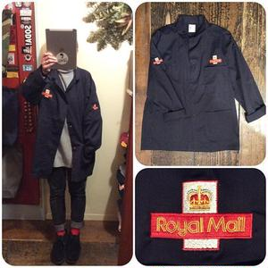 [SELECT] UK Royal Mail SHOP COAT -DEADSTOCK
