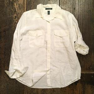 [USED] Ralph Lauren リネンシャツ