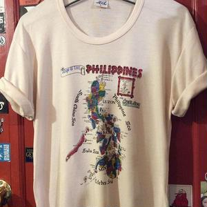 [USED] Map of the PHILIPPINES tee