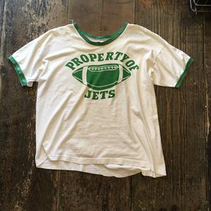 [USED]  70's バータグ Champion ダメージ Tシャツ