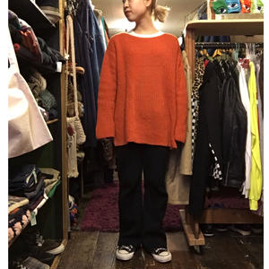 [USED] 色っぽい♡ORANGE Knit