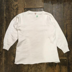 [USED] EURO Vintage!LONG white sweat