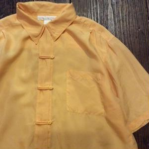[USED] 100% SILK!  CHINA SHIRTS