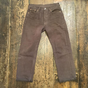 [USED] Levi's 501 ♡brown color