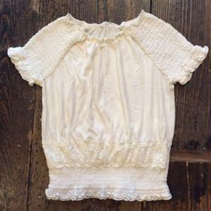 [USED] COTTON WHITE TOPS