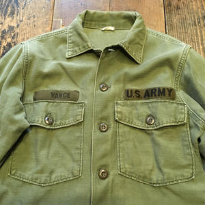 [USED] vintage US ARMY  COTTON 100%!