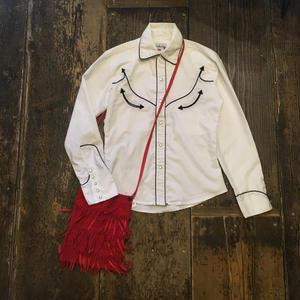 [USED] スッキリお洒落なウエスタンシャツ
