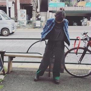 [PERO]  シースルー・エプロン ドレス
